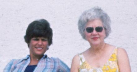 Liz Watson and Mildred Melvin